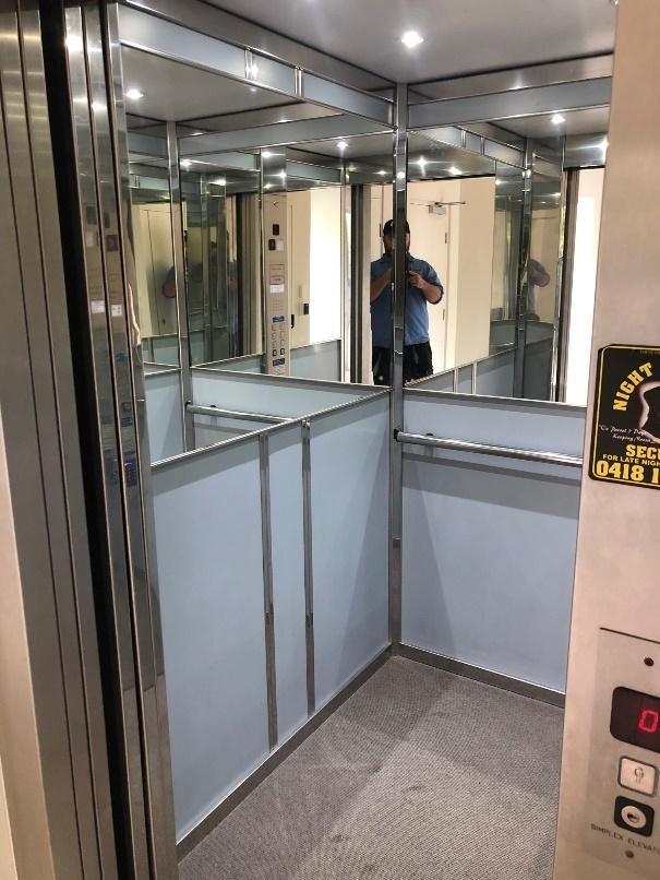 Open lift