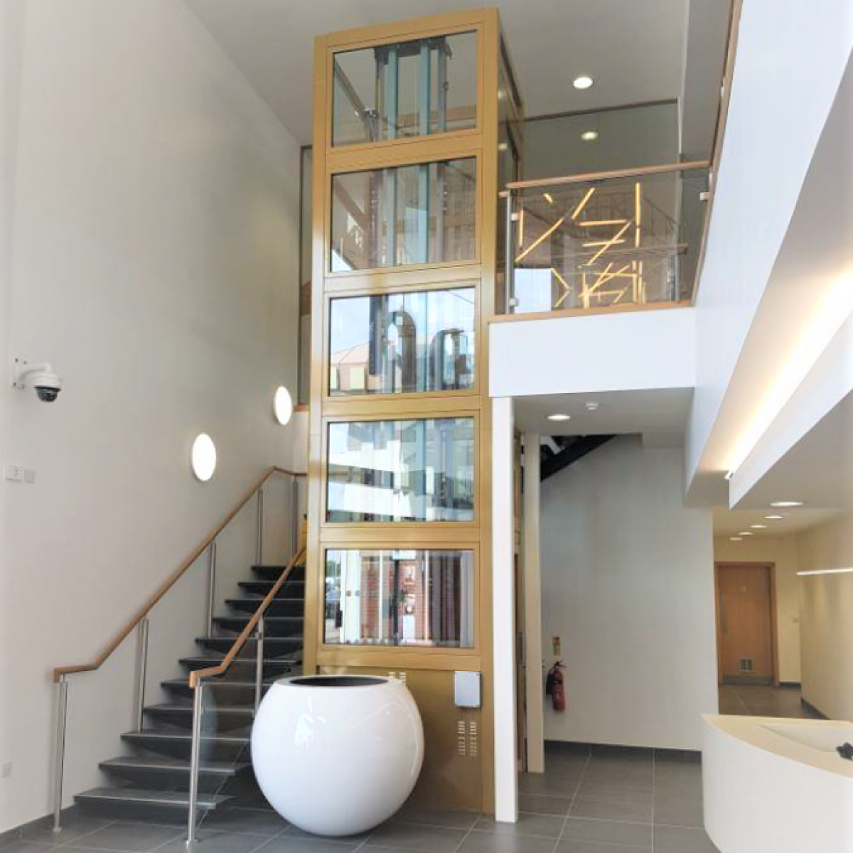 Easy Move Passenger Lift in home Easy Move Passenger Lift | Simplex Elevators Gallery Image 2