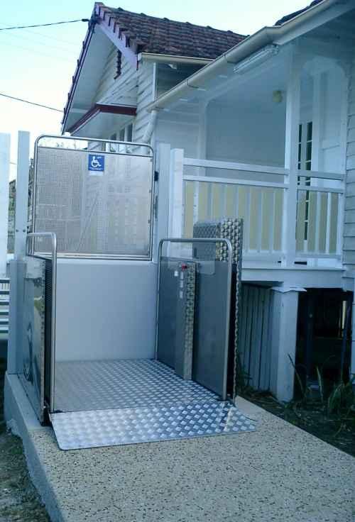Vertical Platform Lift at home